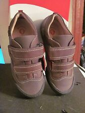 GARVALIN BOYS BROWN LEATHER CASUAL SHOES