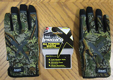 Ansell Insulated Camouflage Winter Gloves! Work Driving Hunting Thinsulate Camo