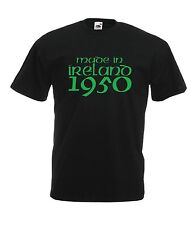 MADE IN IRELAND 1950 65th birthday party present gift ideas mens womens T SHIRT
