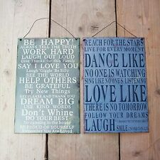 Metal Wall Plaque Reach for the Stars My Sunshine Be Happy Love Inspiration Sign