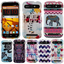For ZTE Warp Sync N9515 Galaxy Stars Aztec Snap On HARD Case Cover Accessory