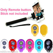 New Bluetooth Remote Shutter Button iPhone Samsung IOS Android for Selfie Stick
