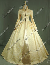 Queen Elizabeth Tudor Period Dress Gothic Theatre Reenactment Gown Steampunk 162