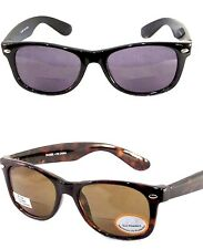 BiFocal Reader Sunglasses Wayfarer Retro Style Sun Reader Men Women UV 100%
