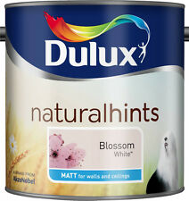 Dulux Matt 2.5L for Walls and Ceilings wipeable, smooth Creamy Paint 50 colours