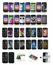 Huawei Tribute Fusion 3 Y536A1 (AT&T) Hybrid Phone Case + Free Screen Protector