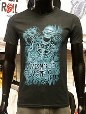 AVENGED SEVENFOLD Uni-Sex Tee Shirt Official CHAINED SKELETON