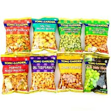 PARTY SNACK MIXED PEANUTS GREEN PEAS COCONUT BROAD BEANS ANCHOVY RAISINS 4-24 PK