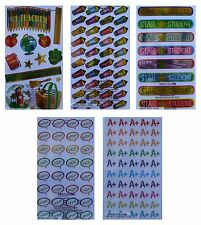 *STICKO* Child Reward Stickers (3 x Sheets ) Back to School, Teacher Aid *SALE*
