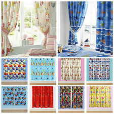 "Kids Bedroom Curtains - Many Designs For Boys and Girls - 54"" and 72"" Drops"