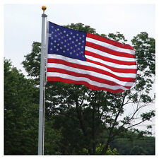 20ft Residential Flagpole with Valley Forge Nylon Flag