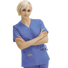 Scrubs Urbane Double Pocket Crossover Top 9534 Ceil FREE SHIPPING!