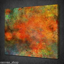 ABSTRACT OIL PAINTING TEXTURE MODERN WALL ART PICTURE CANVAS PRINT READY TO HANG
