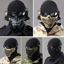 Strike Metal Mesh Protective Mask Half Face Tactical Airsoft Military Mask New