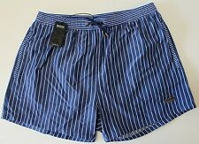NWT HUGO BOSS Swim Suit Trunks Mens Salmon 10171286 XL Extra Large Blue NEW
