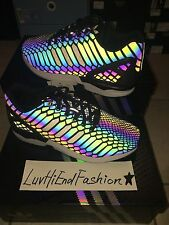 ADIDAS ZX FLUX XENO XENOPELTIS SNAKE REFLECTIVE 3M 100% AUTHENTIC US SZ 7.5 -13