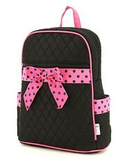 Personalized Quilted Solid Medium Back Pack Bag w/ FREE Customized Embroidery!!