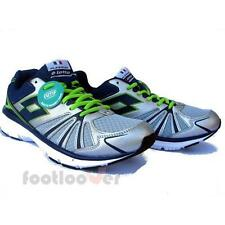 Shoes Lotto Flyzone V Plus I R8131 Man Sneakers Running Silver Navy Memory Moda