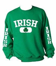 Saint Patrick Days Irish Sweatshirt Drank Beer st