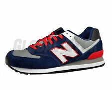 New Balance  ML574cpm Mens's Classics Red Navy White Blue Medium