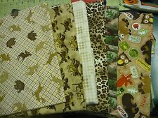 Brown Fun Flannel Fabrics Elastic Belly Band Diaper Male Dog Carol's Crate Cover