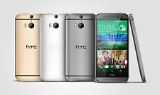 NEW AT&T UNLOCKED HTC ONE M8 32GB ANDROID NFC GPS 4G LTE BOOM SOUND SPEAKERS
