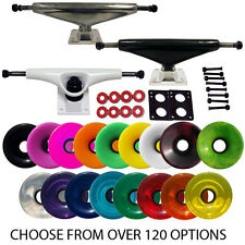 LONGBOARD TRUCKS WHEELS BEARINGS Complete your deck YOU PICK CUSTOM COLORWAYS