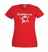 BIRTHDAY GIRL funny party christmas gift ideas present top boys girls T SHIRT