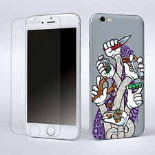 Funny Game Decal Vinyl Sticker Cover Skin W/Screen Film For Apple iPhone 6 New