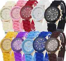 Geneva Ladies Jelly Wrist Watch Women Girls Kids SILICONE Quartz Watch