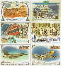 2014 Allen & Ginter Inserts Fields,Air Supremacy,Capitals,Wonders Pick Cards