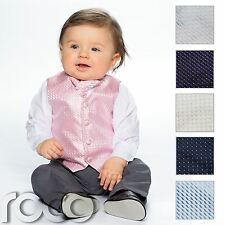 Baby Boys Waistcoat Suit, Page Boy Suits, Grey Trousers, Boys Wedding Suit