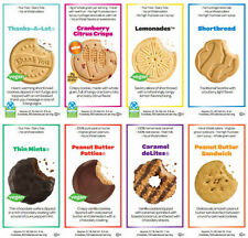 Girl Scout Cookies (6 Boxes) 1/2 CASE ~9 Flavors to choose From~