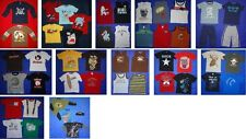 CRAZY 8 H&M WES&WILLY pirate skull google googly eye T SHIRT boys 4 5 6 7 8 LOT
