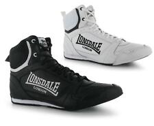 Lonsdale Mens Boxing Boots Lace Up Box Fight Training ~All size UK 7-12 EU 41-47