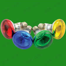 10x 60W R80 Coloured Reflector Dimmable Disco Spot Light Bulbs ES E27 Screw Lamp