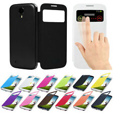 Flip Leather Case Cover for Samsung Galaxy S4 i9500 Mobile Accessories