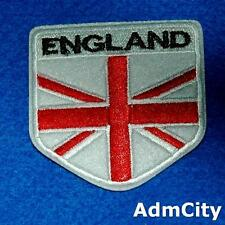 England Flag  Iron on Sew Patch Embroidered Badge Applique Embellishment Biker