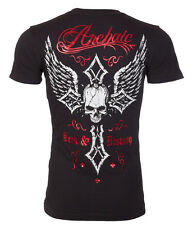 Archaic AFFLICTION Mens T-Shirt LIVE FAST Skull Tattoo Biker MMA UFC M-3XL $40 a