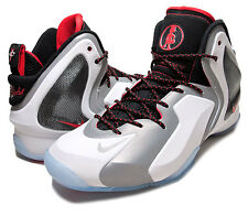 Nike Lil Penny Posite Mens Size Baseketball Shoes White Black Silver Foamposite