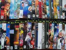 XBOX  Instruction Manuals Free ship after 1st one, BubbleMailer Ship Great Cond.