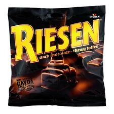 RIESEN Storck Dark Chocolate Chewy Toffee Sweets Candy Retro BAG American USA