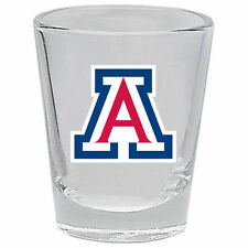 Arizona Wildcats 2 oz Shot Glass - NCAA Officially Licensed - Pick 1 or 2 Shots