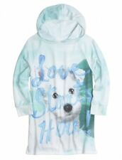NWT Justice Girls Love Starts Here Puppy Dog Soft Hoodie Top Tee U Pick Size NEW