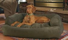 XL Overstuffed Dog Sofa Bed Luxury Bolster Couch Microseude X-Large Pet Cozy