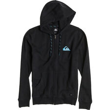 Quiksilver Everyday Mens Zip Hoody Black All Sizes