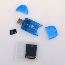 Micro SD MicroSD 8G 16G 32G 32GB SDHC Mini HC TF Memory Card+Adapter+Card Reader