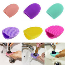 New Cosmetic Makeup Brush Silicone Cleaning Glove Scrubber Hand Cleaner Tool