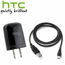 OEM Original HTC One S/V/X/X+ Premium USB Cable + Home/Wall Travel Charger
