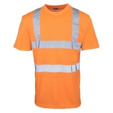 RTY High Visibility Reflective Mens High Vis T-Shirt/Tee/Top Workwear Szs S-5XL